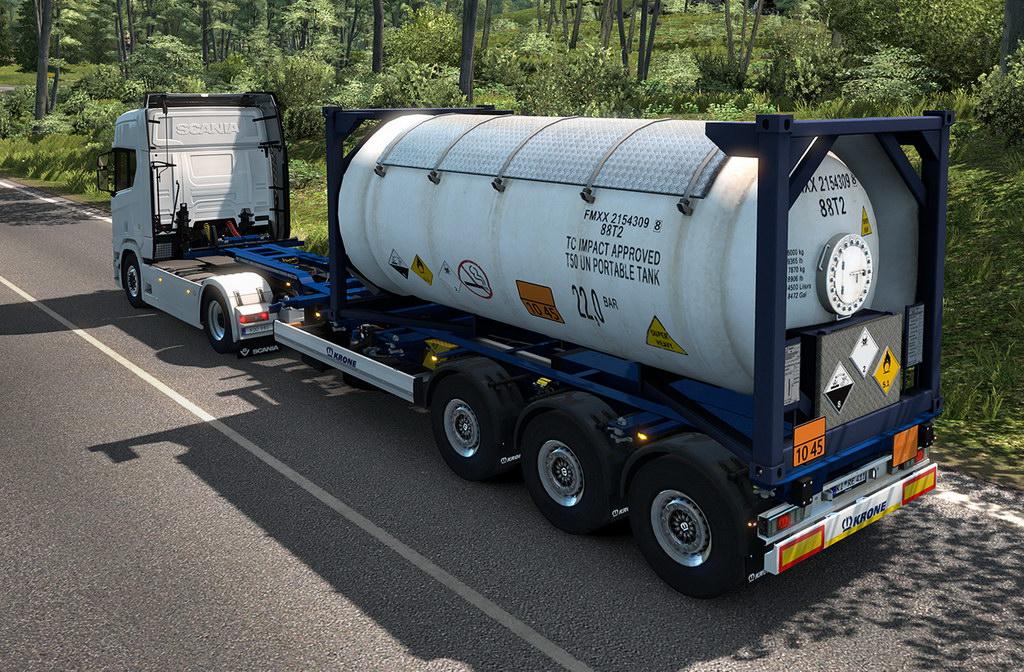ᐉ Euro Truck Simulator 2 - Krone Trailer Pack DLC - DL/PC