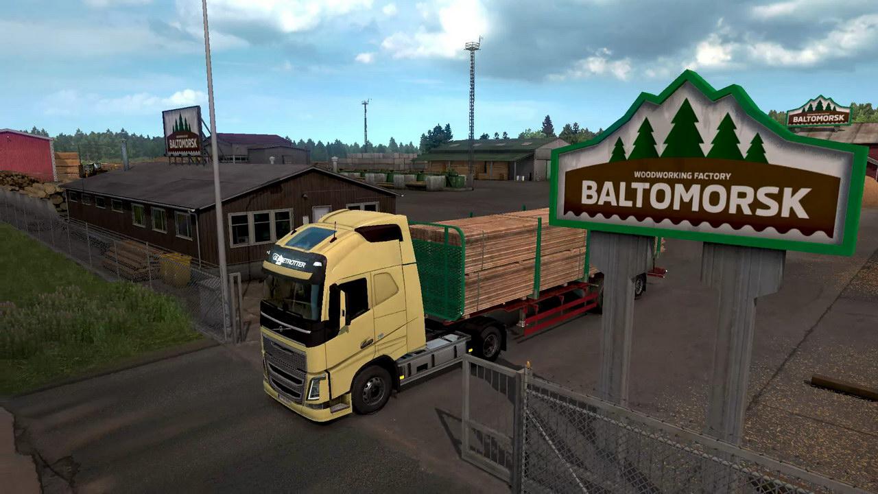 ᐉ Euro Truck Simulator 2 - Beyond the Baltic Sea DLC - DL