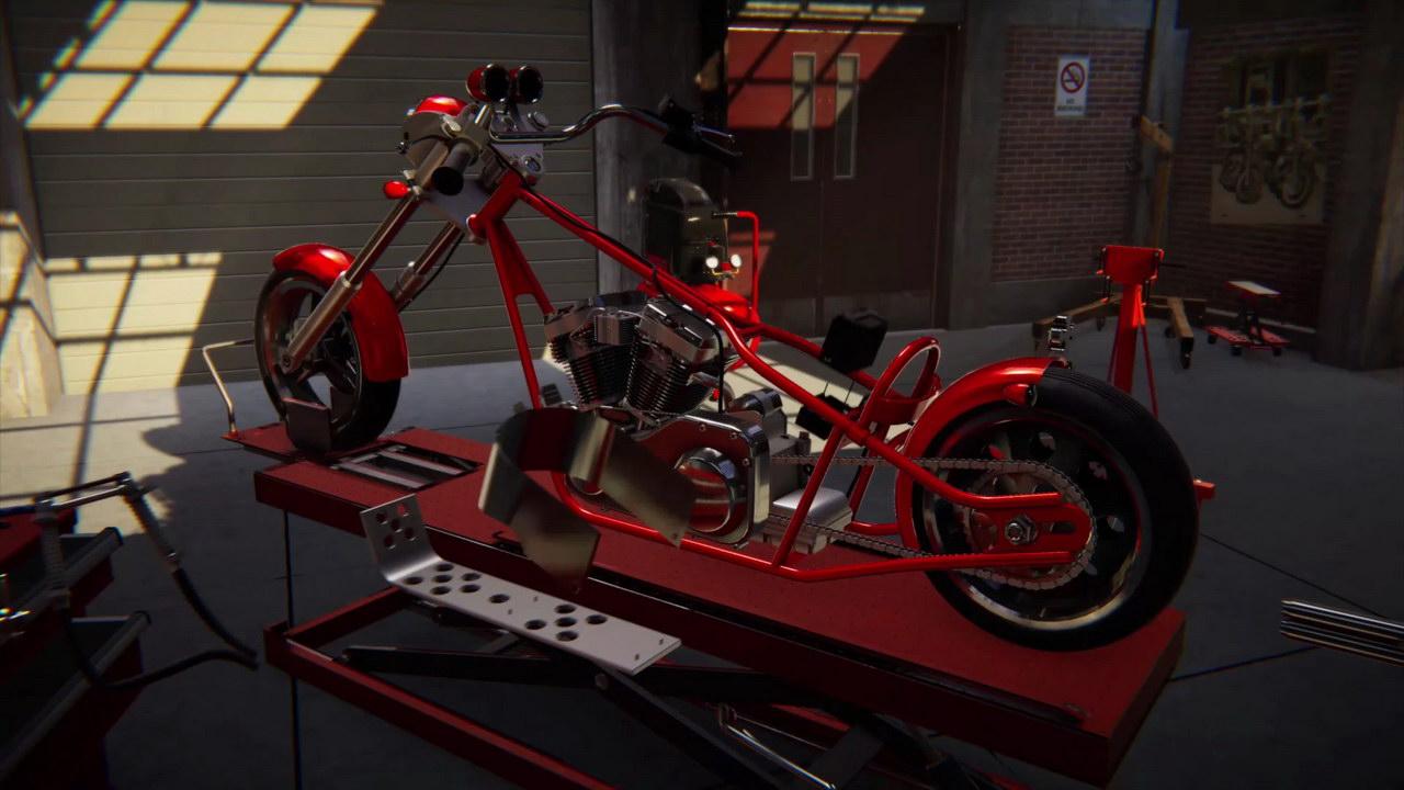 Biker Garage: Mechanic Simulator Download Game