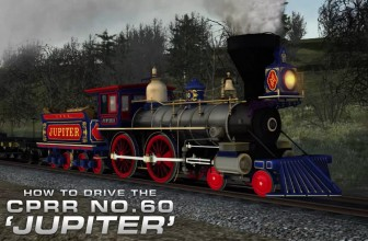 "Train Simulator: CPRR 4-4-0 No. 60 ""Jupiter"" Steam Loco Add-On"